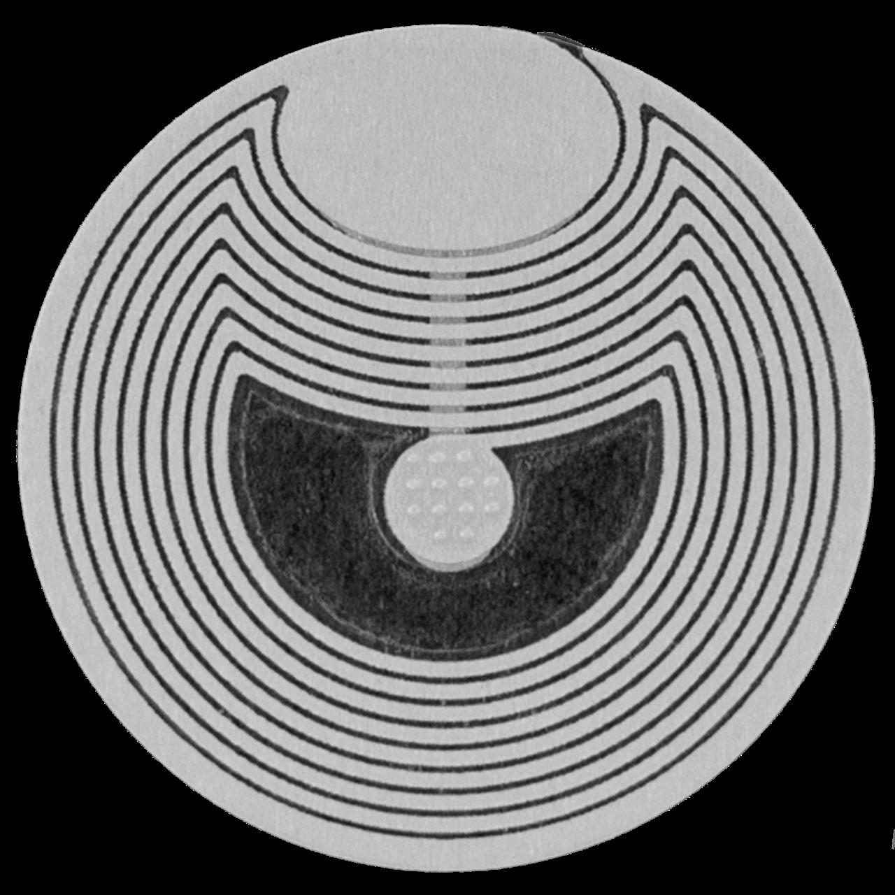 Sensormatic RF 33mm Round Roll Label in Armenia at Vantag LLC